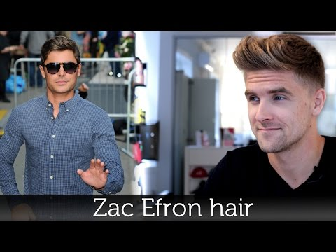Hair - Zac Efron hair hairstyle mens hair inspiration Hair products online - http://www.SlikhaarShop.com Follow Slikhaar at - https://www.facebook.com/SlikhaarTVGroup Free member signup: http://eepurl.co...