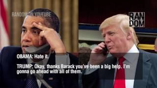 Video Trump calls to obama pt 2 MP3, 3GP, MP4, WEBM, AVI, FLV April 2018