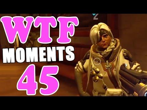 Overwatch WTF Moments Ep.45 (видео)