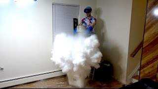 What Happens When You Drop Dry Ice Into Liquid Nitrogen?!?