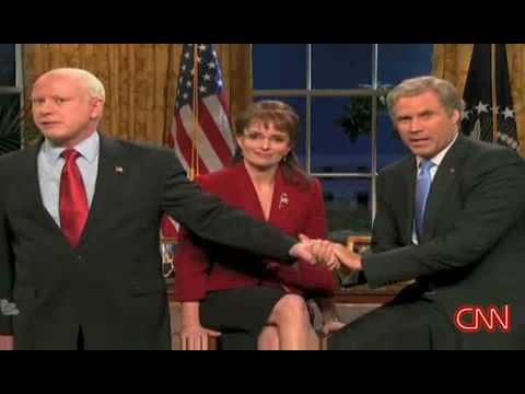 Saturday Night Live Sweden - http://www.RentFree4Life.com Saturday Night Live SNL Will Ferrell return as Bush endorses McCain Sarah Palin Tina Frey election 2008 #18 - Most Viewed (This ...