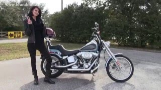 3. 2007 Harley Davidson Softail Custom Motorcycle