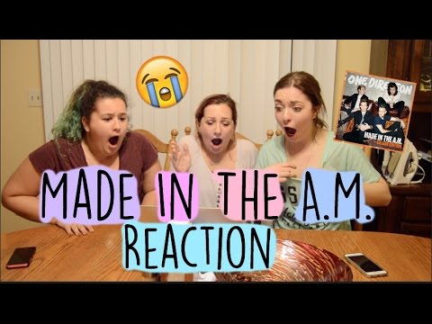 MADE IN THE A.M. ALBUM REACTION || ONE DIRECTION