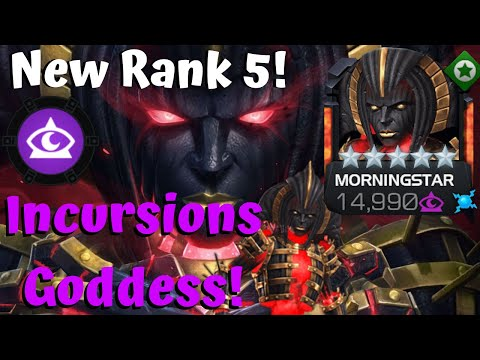 New Rank 5 Morningstar! Goddess of Incursions! Record Rooms! - Marvel Contest of Champions