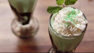 St. Patrick's Day Recipes - How To Make Shamrock Shakes