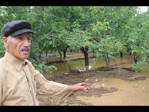 Karamahmutlu Köyünde yine Sel Baskını