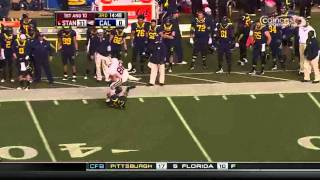 Sean Cattouse vs Stanford 2010