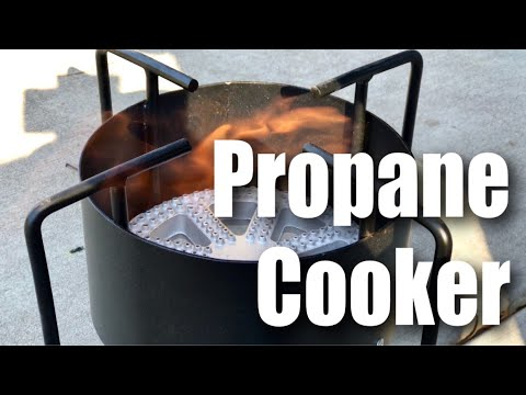 21000 BTU Propane Outdoor Gas Cooker for Turkey Frying/Camping Review