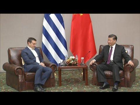 Ο Πρόεδρος της Κίνας προσκάλεσε τον πρόεδρο του ΣΥΡΙΖΑ να επισκεφθεί το Πεκίνο