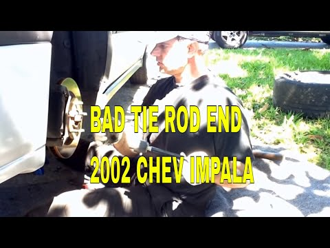 2002 Chevrolet Impala Inner and Outer Tie Rod Replacement DIY