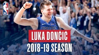 Luka Doncic's Best Plays From the 2018-19 NBA Regular Season