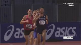 2000m Men'sMasaki Toda 5:14.39Decanation 2016
