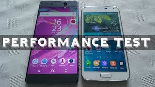 Sony Xperia XA Ultra VS Galaxy S5 Performance Test