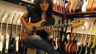 belajar gitar teknik string skipping bersama giwe santos