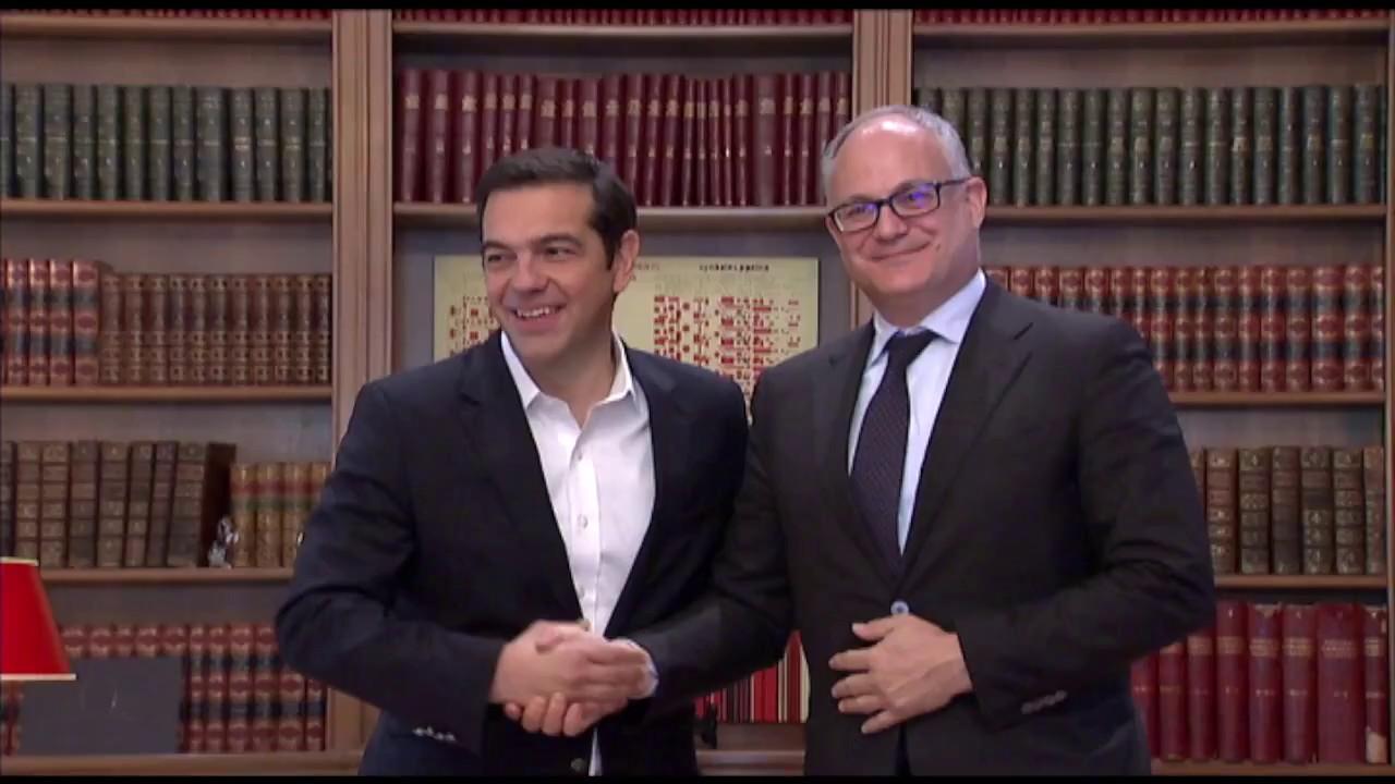 Συνάντηση με τον κ. Ρομπέρτο Γκουαλτιέρι