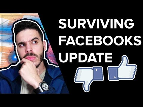 How To Survive The Facebook Algorithm Update As A Marketer (Facebook Update)