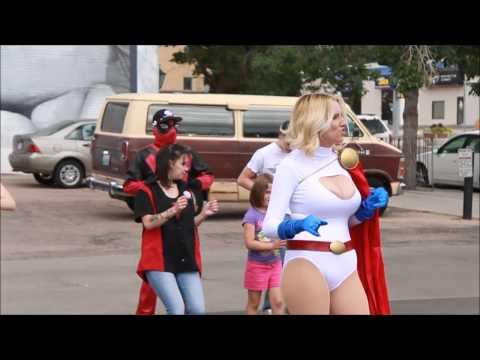 AZ Powergirl Dancing!