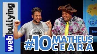 """Webbullying com o comediante Matheus Ceará da """"A Praça É Nossa"""". ..... INSCREVA-SE NO CANAL https://goo.gl/5dhQYK Me..."""