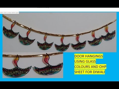 How to make Toran for Diwali at home