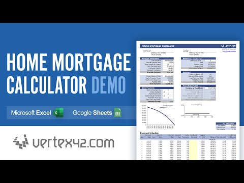 Home Mortgage Calculator Demo