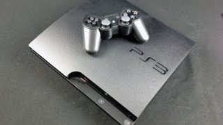 Sony PS3 Slim 320GB: Unboxing
