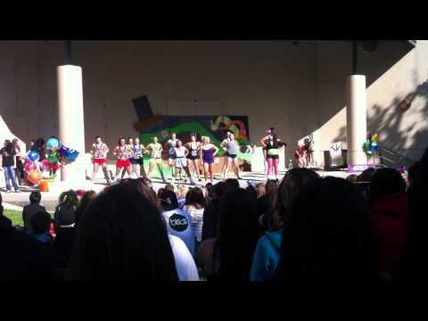 Alpha Chi Omega Greek Sing 2011 (видео)