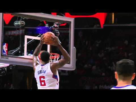 Jordan - Lob City is here and DeAndre Jordan ensures that we don't forget. With a strong drive to the basket Chris Paul eyes DeAndre filling in the lane and tosses up a beauty. DeAndre gets up and brings...