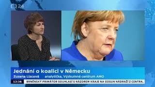 Jednání o koalici v Německu