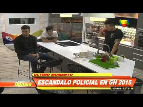 Mariano sera notificado por la policia parte 1 GH 2015 #GH2015 #GranHermano