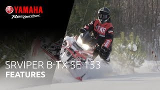 8. 2019 Yamaha SRViper B-TX SE 153 - Just what you need to conquer the back country style