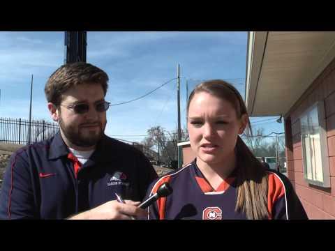 C-N Softball Kelli Hensley SAC Player of the Week 2-18-14