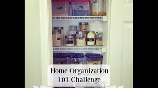Home Organization 101 Challenge: The Pantry