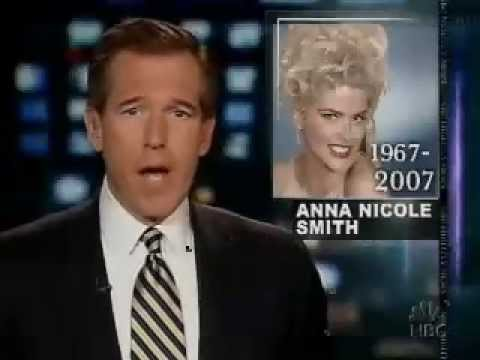 NBC Nightly News: Anna Nicole Smith Death - Part 1