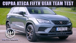 Cupra Ateca Team Test   Fifth Gear by Fifth Gear