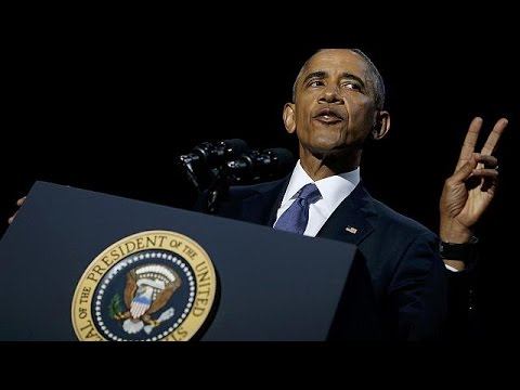 «Да мы смогли» — Барака Обама попрощался с избирателями - DomaVideo.Ru