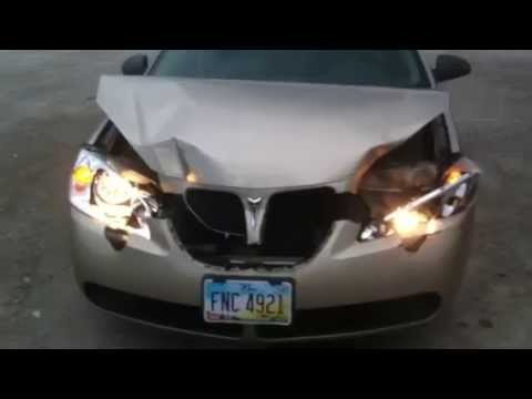 How to fix the head lights in a pontiac g6