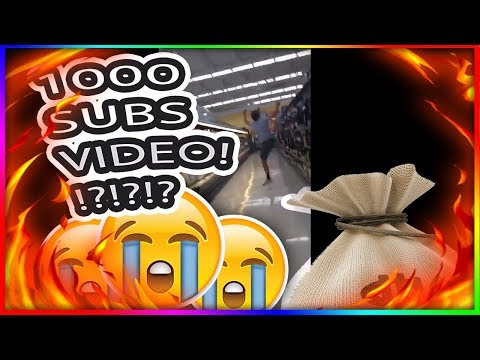 1000 SUBSCRIBER CHALLENGES!! CRAZIEST VIDEO EVER ON YOUTUBE