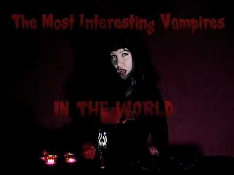 The Most Interesting Vampires In The World! Beer commercial spoof