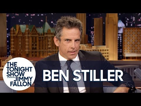 Ben Stiller Gets Distracted by His Inner Monologue While Being Interviewed on The Tonight