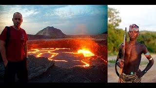 Как не сгореть на кратере вулкана в Африке и выжить в диком племени