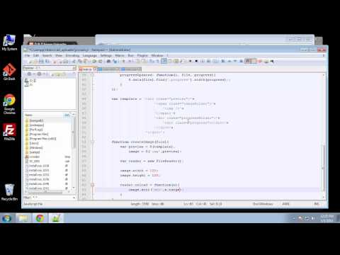 Projects in HTML5 – Chapter 35 – JQuery Filedrop Plugin Part 2