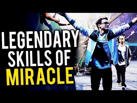 The Legendary Skills Of Miracle - Dota 2
