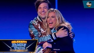 Video Quickest Fast Money EVER by The Band Perry - Celebrity Family Feud MP3, 3GP, MP4, WEBM, AVI, FLV Desember 2018