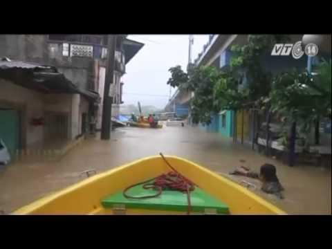 Bão Fung Wong gây mưa lớn và ngập lụt tại Philippines