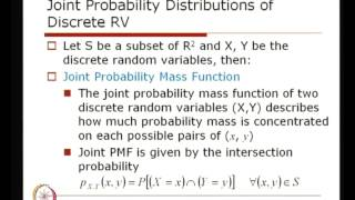 Mod-01 Lec-19 Joint Probability Distribution