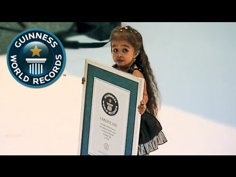 Shortest Woman Alive, Jyoti Amge - Guinness World Records
