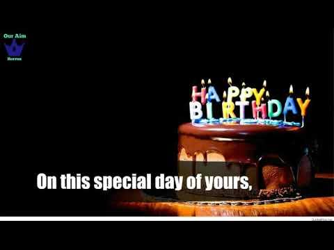 Happy birthday messages - Happy Birthday Day Birthday Wishes - Greetings Christian WhatsApp Status