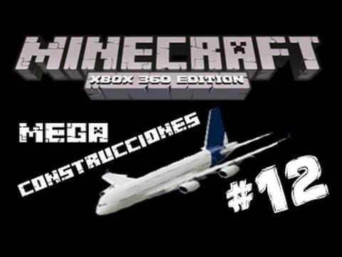 MineCraft Xbox360 - MegaConstrucciones #12 Aeropuerto