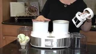 Flavor Duo™ Frozen Yogurt-Ice Cream & Sorbet Maker Demo Video Icon