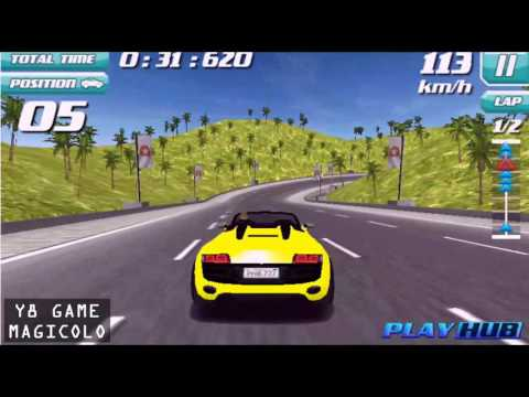 Y8 GAMES TO PLAY - Drift Rush 3D Free Driving Game 2016